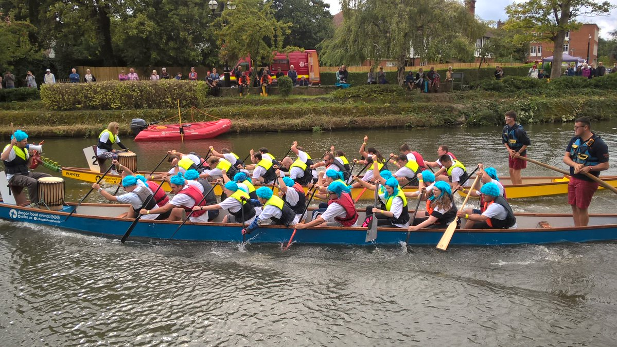 Tonbridge Dragon Boat Race 2018 - COMPLETED