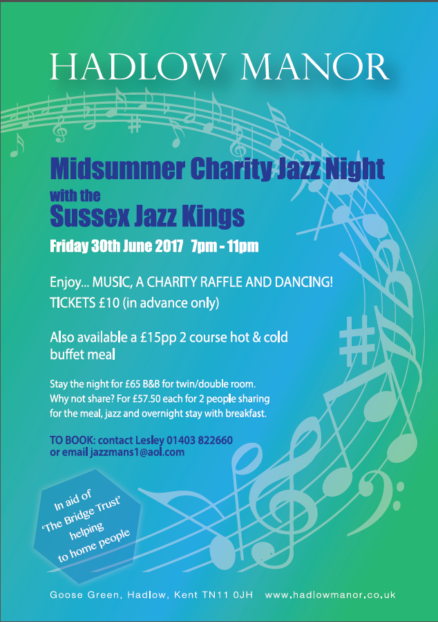 Hadlow Manor Jazz Night