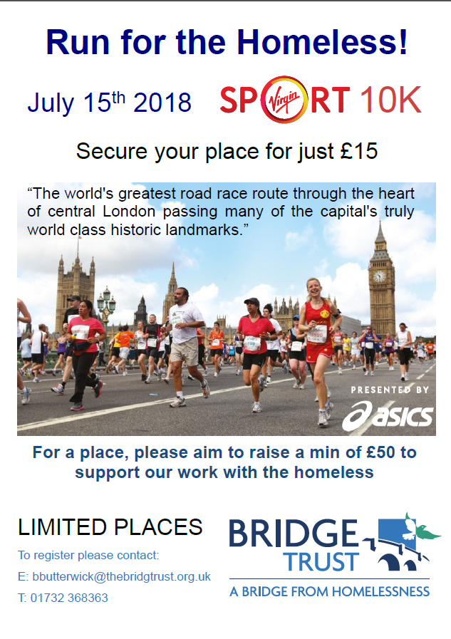 Virgin Sport 10K  (previously British 10K London Run) - COMPLETED