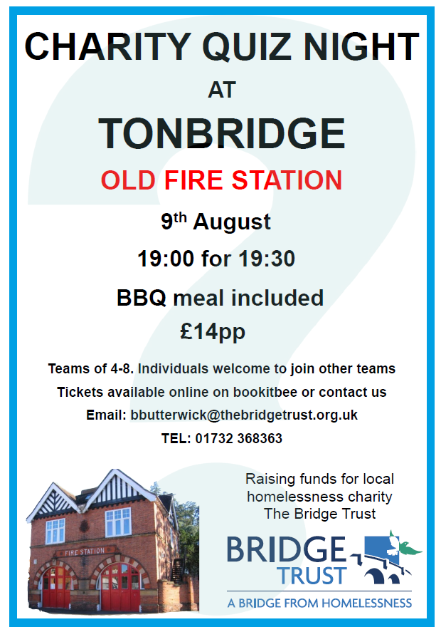Quiz Night at Tonbridge Old Fire Station