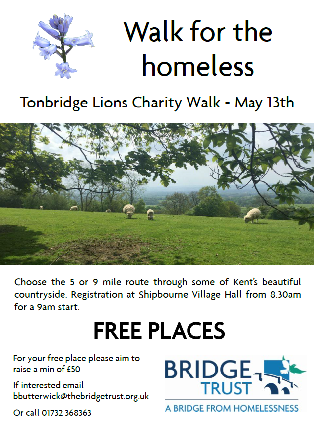 Tonbridge Lions Charity Walk - COMPLETED