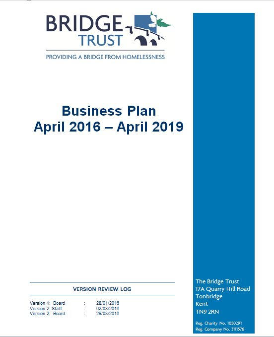 The Bridge Trust   Business Plans